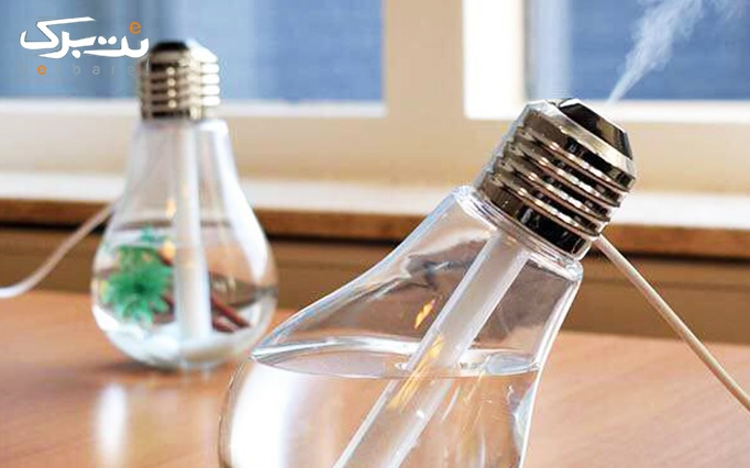 بخور سرد رومیزی طرح لامپ از فروشگاه آروگو 2