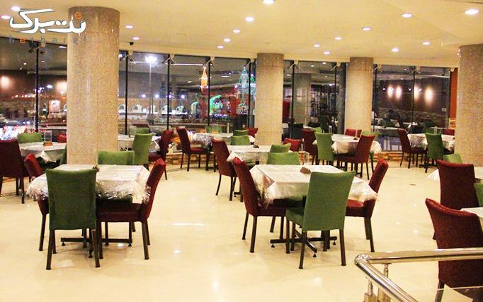 رستوران شیشه ای زیتون لبنان با منو انواع فطائر