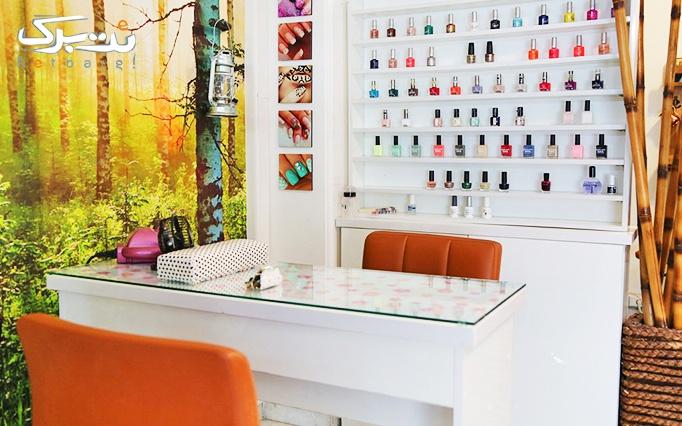 براشینگ و رنگ مو یا میکاپ صورت در آرایشگاه روژ