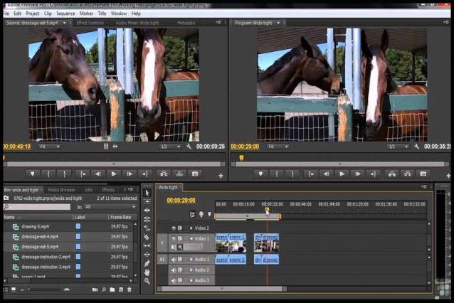 آموزش نرم افزار  Premiere Pro