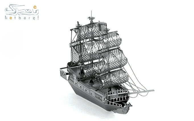 پازل سه بعدی فلزی کشتی بادبانی از فروشگاه ایران پازل