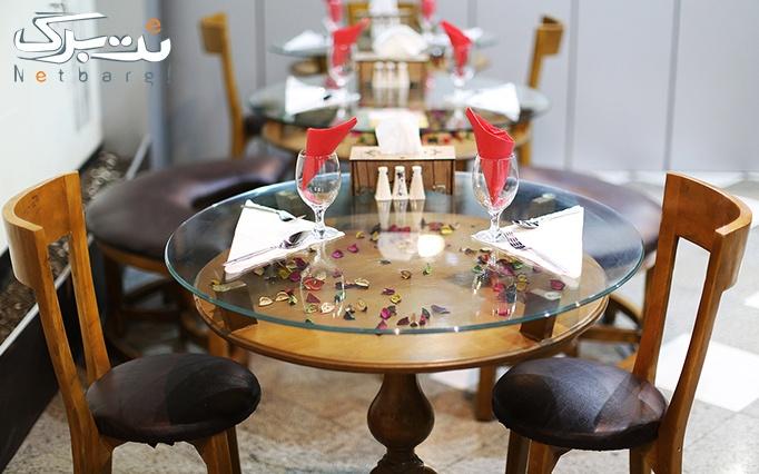 رستوران چوبین با منوی باز غذای ایرانی