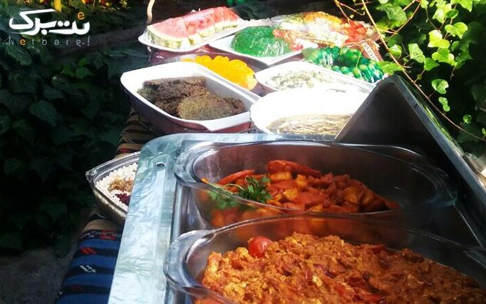 کافه سنتی شبستان با بوفه آزاد پاییزه (غذای ایرانی)