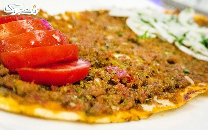 غذای متفاوت با دورچین سالاد در رستوران مارال