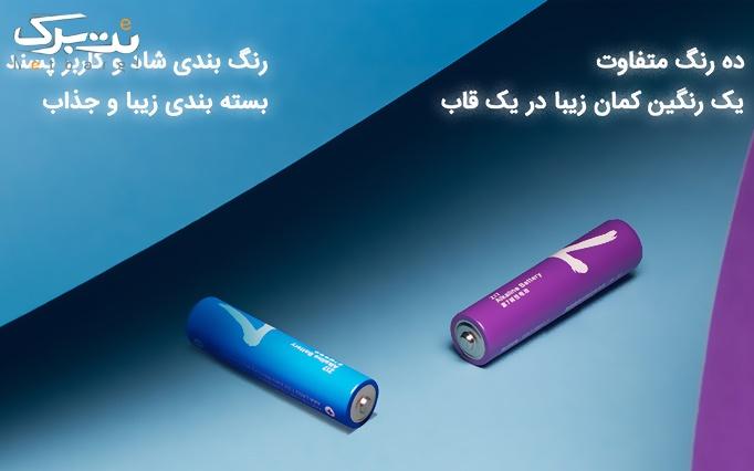 جشنواره محصولات شیائومی:  باتری رنگین کمانی نیم قلمی شیائومی  از تامین کالای نت برگ