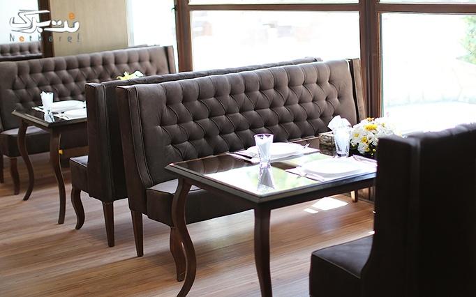 رستوران بین المللی شاندیز برتر با منوی باز