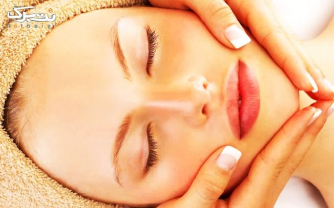 ماساژ درمانی صورت در آرایشگاه راز زیبایی