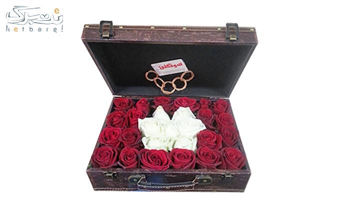 باکس صندوقی گل رز از فروشگاه گل سوگلی
