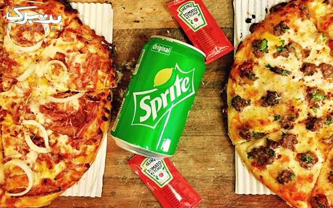 تاکسی پیتزا با منو متنوع پیتزا، فرنچ فرایز و چیز فرایز
