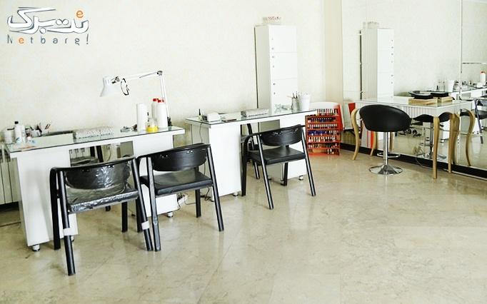 کاشت ناخن در آرایشگاه گلدن گروپ