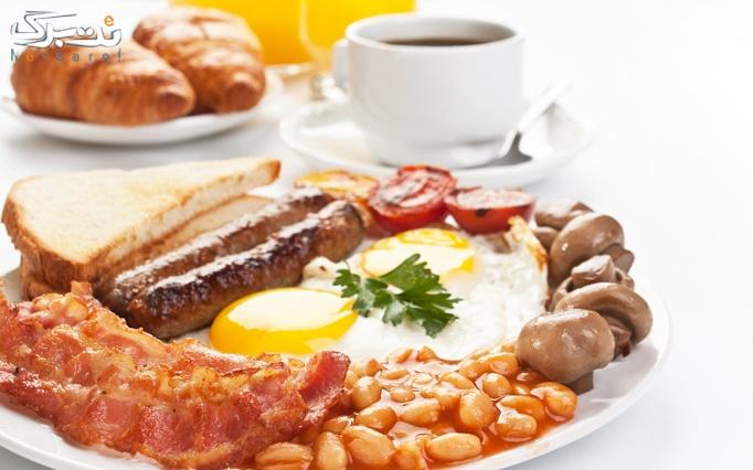 کافه گودی با منوی باز صبحانه