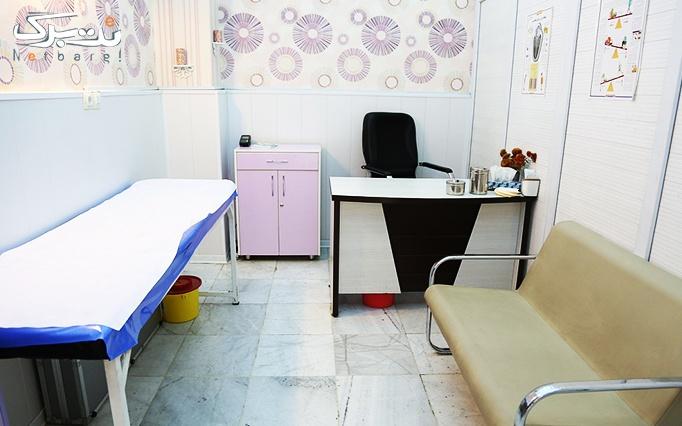 لیزر موهای زائد با دستگاه الکس در مطب دکتر غلامی