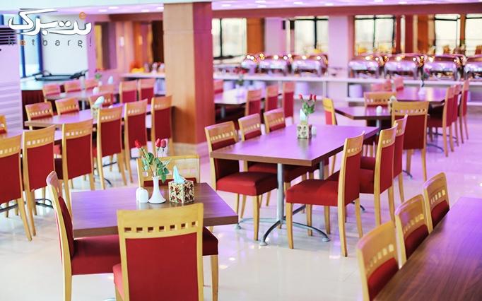 رستوران قصر آریا با بوفه مجلل ناهار و شام