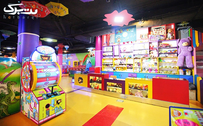 شهربازی هورا پارک واقع در مرکز خرید سمرقند