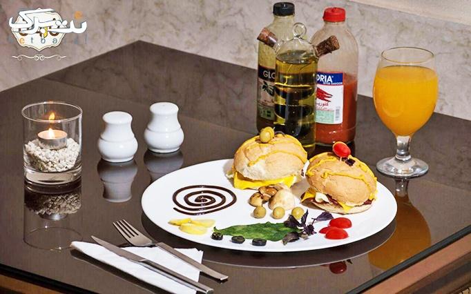 رستوران نارون vip با منو صبحانه