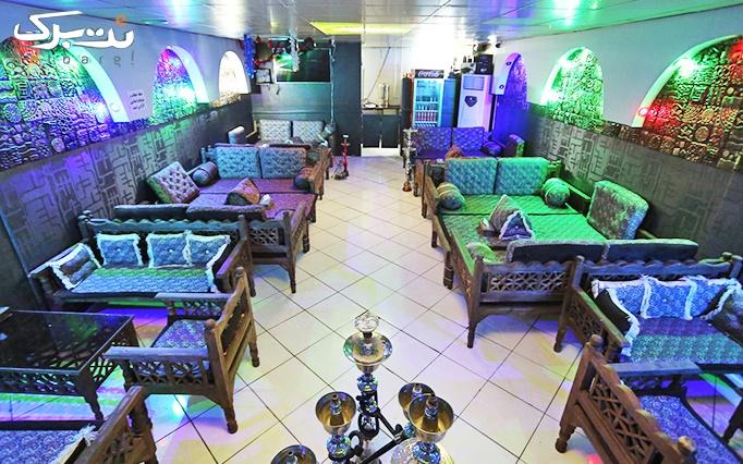 سرویس چای سنتی در کافه عربی نخل