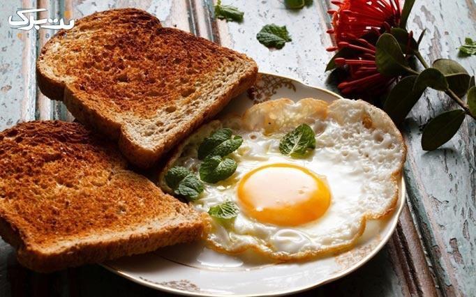 گاندو کافه با منوی باز صبحانه لذیذ و پر انرژی