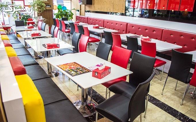 کافه رستوران پارسینا با منو باز نوشیدنی های گرم