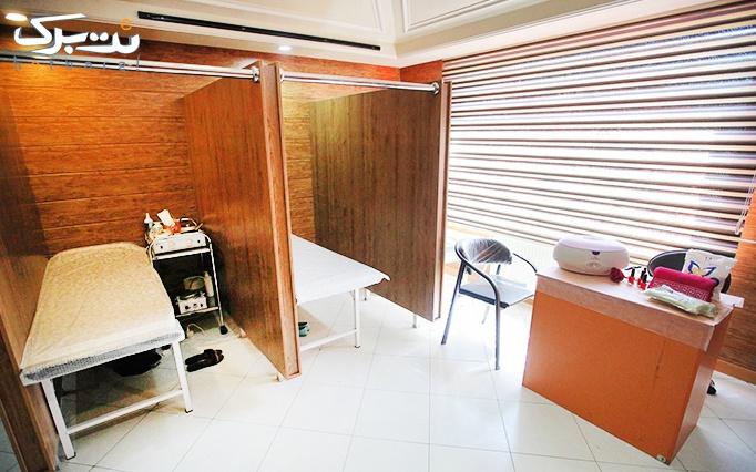طراحی حنا در آرایشگاه باران