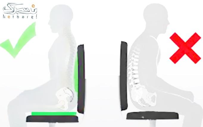 انواع پشتی های طبی صندلی در مرکز پزشکی بهار