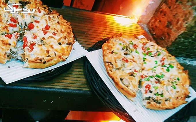پیچک فود با منو باز انواع پیتزا