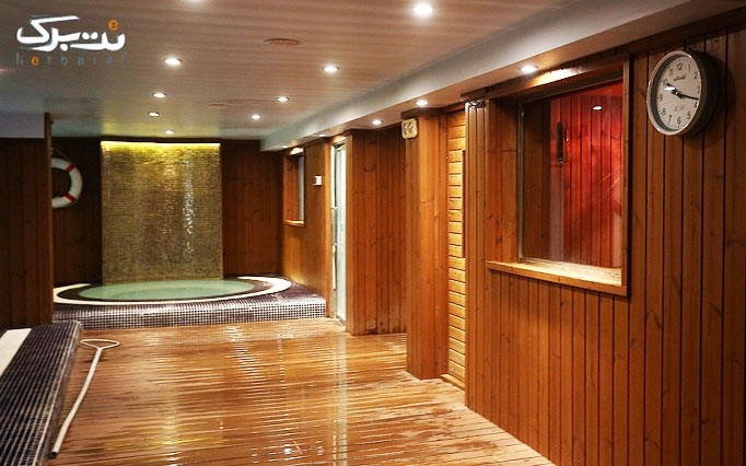 شنا و بدنسازی در استخر هتل ونوس