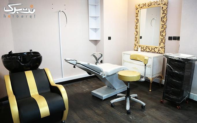 اکستنشن مو در آرایشگاه سلنا