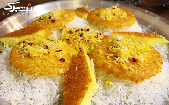 کترینگ برگ سبز با منو باز غذای ایرانی