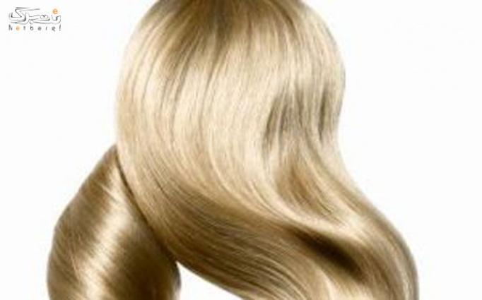 کوپ مو  و رنگ کامل مو در شکوفه باران