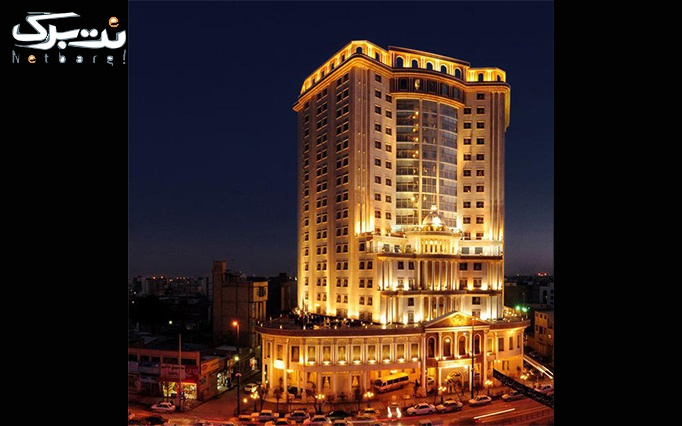 ماساژ شمع و سنگ هتل بین المللی قصر طلایی