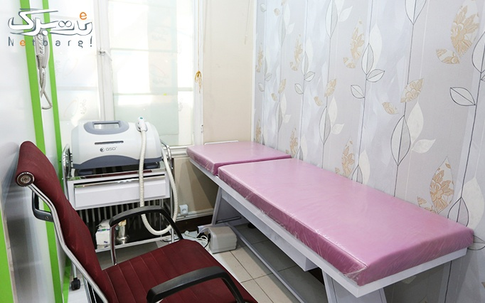 ماساژ صورت و ریلکسی در مطب دکتر عزیزی