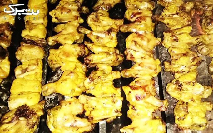 باغ رستوران دولاب با منوی باز غذاهای ایرانی
