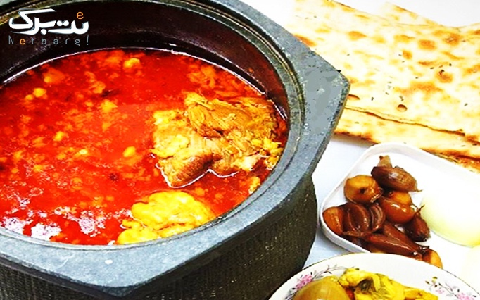 فود کورت (گاچ) با منو غرفه غذای ایرانی