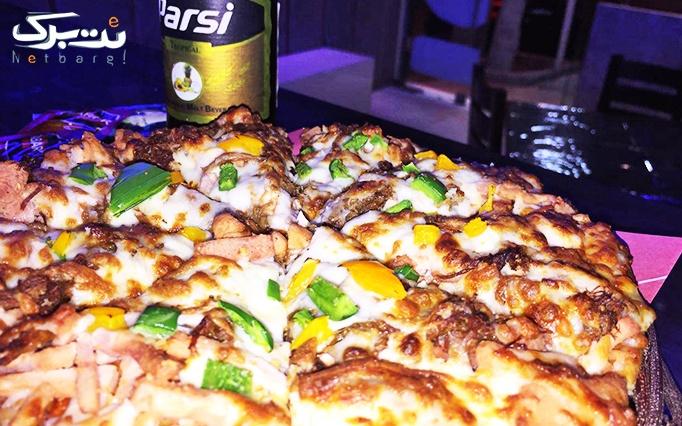 پیتزا پاتک با منوی باز پیتزا