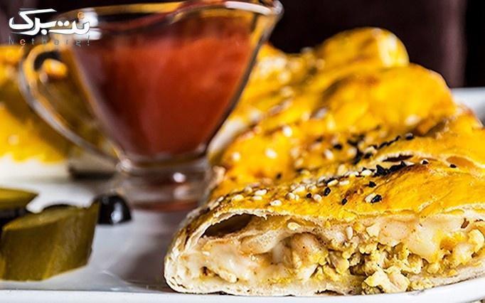 غذاهای ایرانی و ترکی با سالاد بار در رستوران مارال