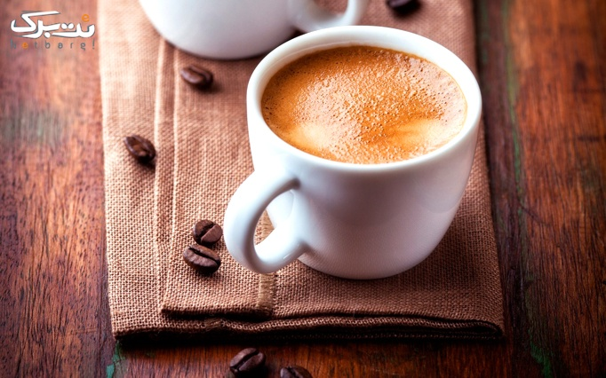 کافی شاپ نادری با منوی باز نوشیدنی های گرم و سرد