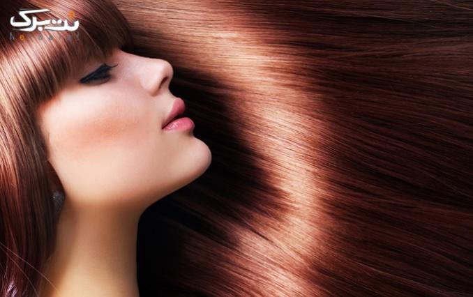 رنگ مو و مش فویلی در سالن زیبایی ندا