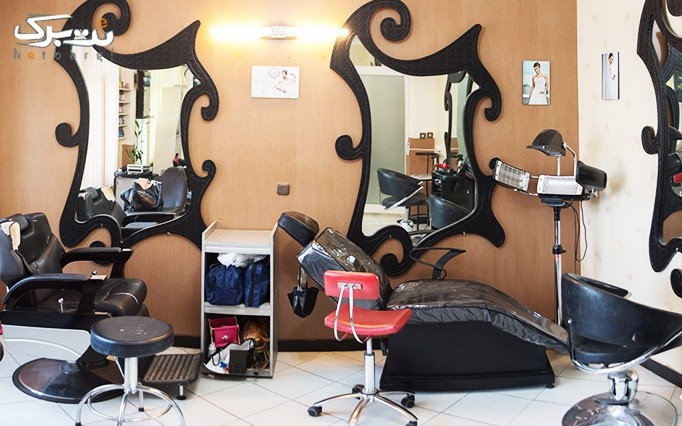 براشینگ مو در آرایشگاه خاتون