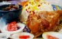 رستوران ته چین با چلو ماهیچه بوقلمون