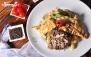 رستوران ایتالیایی آترینا با منوی باز