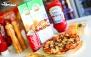 منوی باز پیتزا، ساندویچ، سوخاری در فست فود آشا
