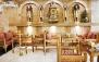 رستوران لبنانی پالمیرا با منوی باز و چای سنتی