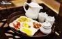 کافه دورهمی با سرویس چای سنتی معمولی و عربی