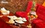 سفره خانه سنتی فانوس با سرویس چای سنتی VIP