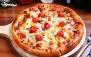 پیتزا همراه با سالاد سزار در وست فود