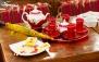 سفره خانه سنتی طهران قدیم با چای سنتی عربی