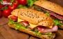 فست فود بالون با ساندویچ، سوخاری، اسنک و پیش غذا