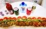 فست فود کاج با منو باز ساندویچ نیم متری