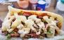 ساندویچ، سیب زمینی و خوراک در فست فود برنا