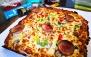 پیتزاهای خوشمزه در فست فود چوبک